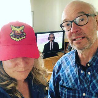 Pappa och jag, redo för match.  #allsvenskan  #öfk
