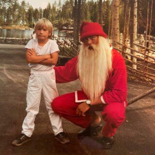 Throwback Thursday: Santa Issues.  #tbt